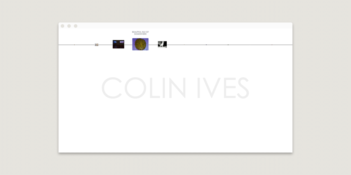 colin ives homepage