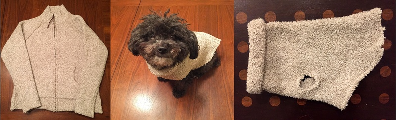 New Sew Dog Sweater