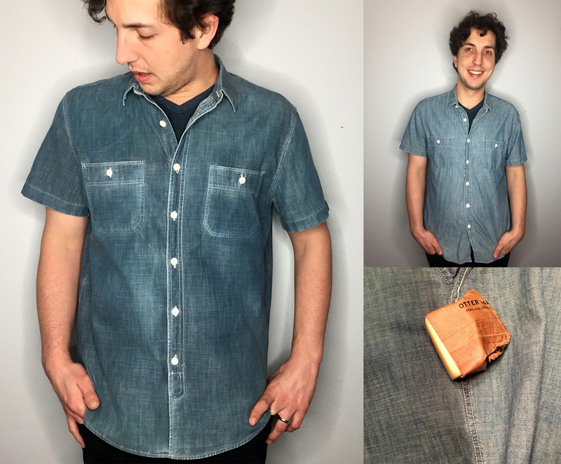 otter wax jean shirt
